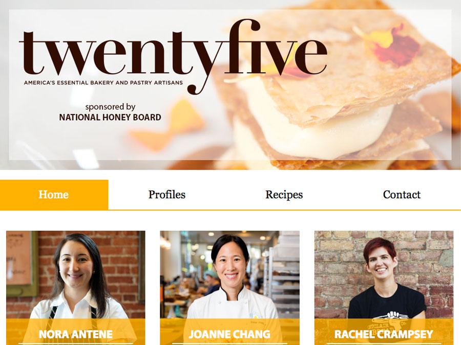 twentyfive best bakers home page