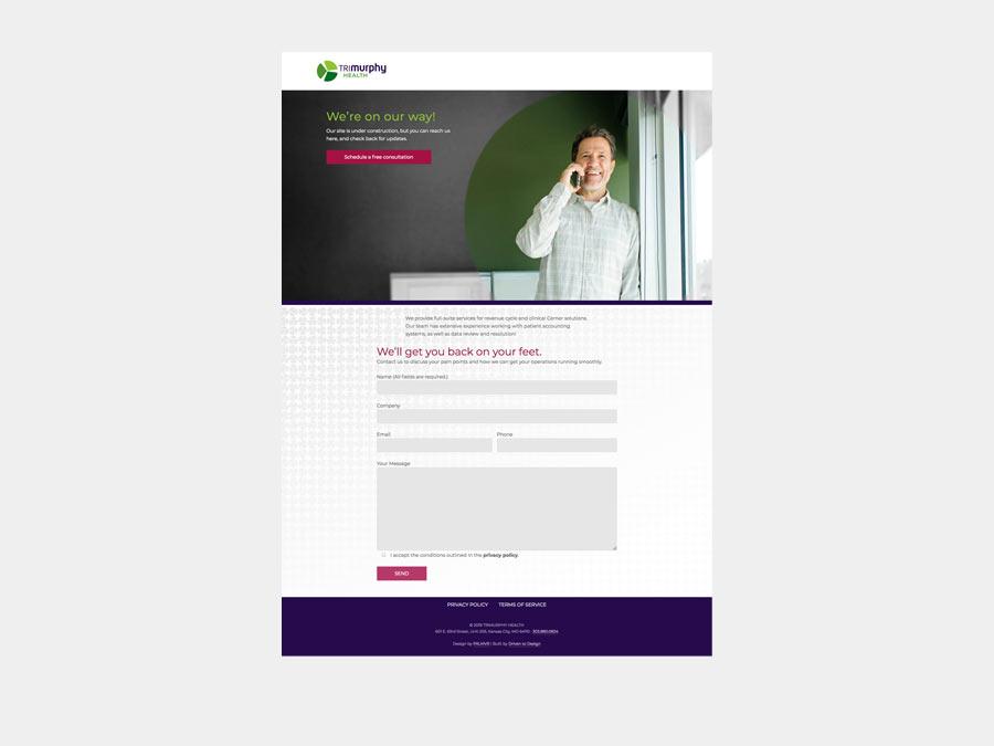 TriMurphy Health website