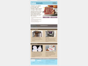 bakenews e-newsletter mockup