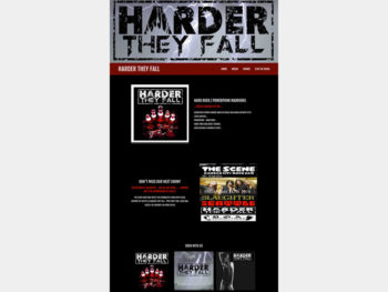Harder They Fall website