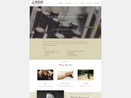 Lada Salon & Spa website rebuild